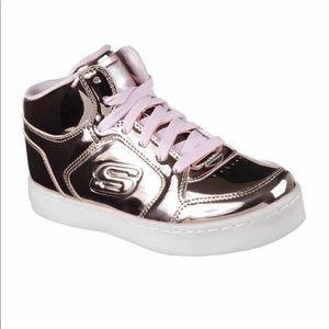 👟SKETCHERS Energy Lights High Top Sneakers